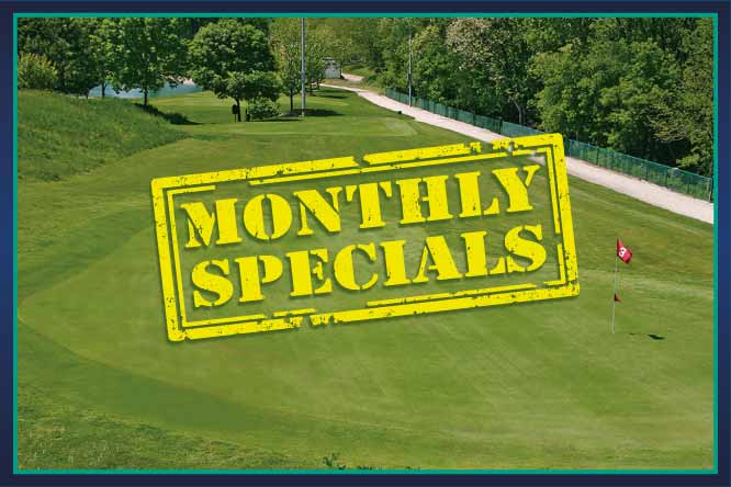 Golf Center Des Plaines Monthly Special
