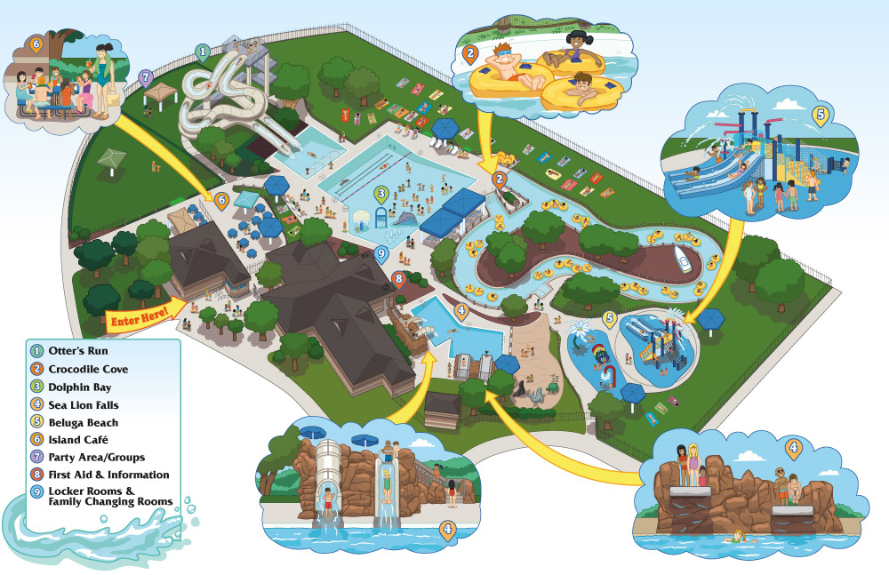 Mystic Waters Map