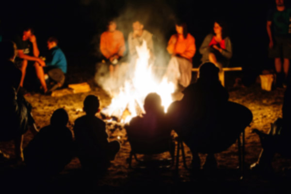 Ghost Stories Around The Campfire