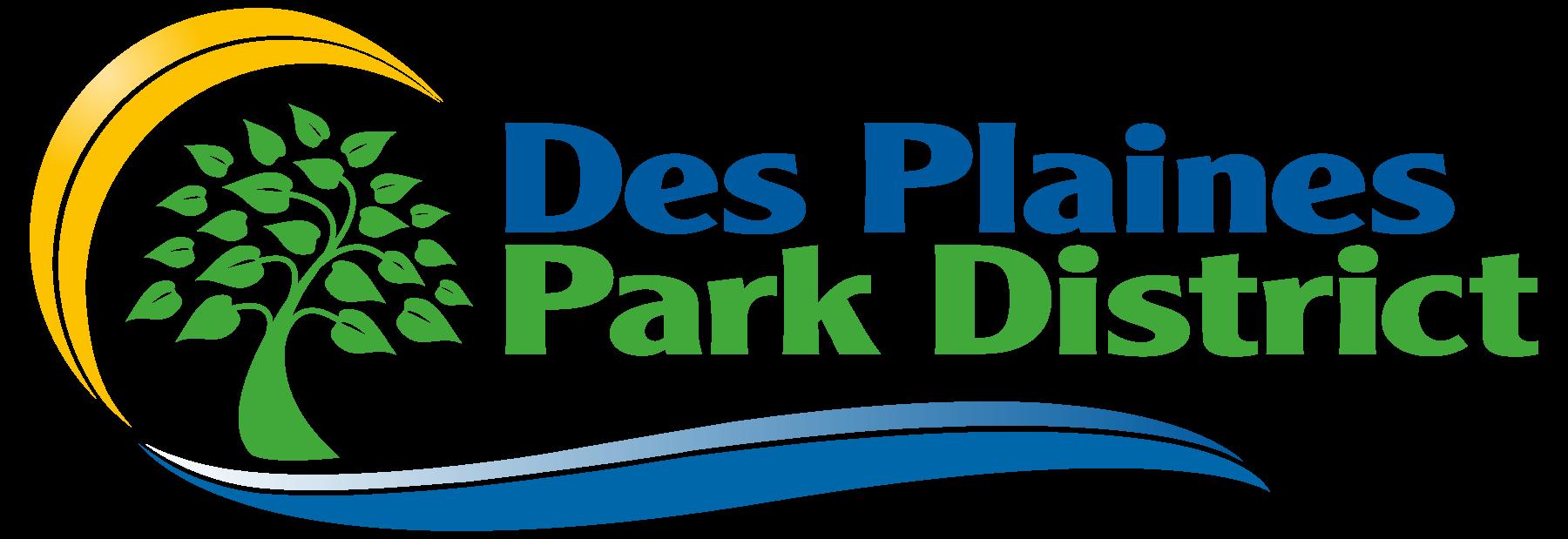 Des Plaines Park District Logo for Registration Forms