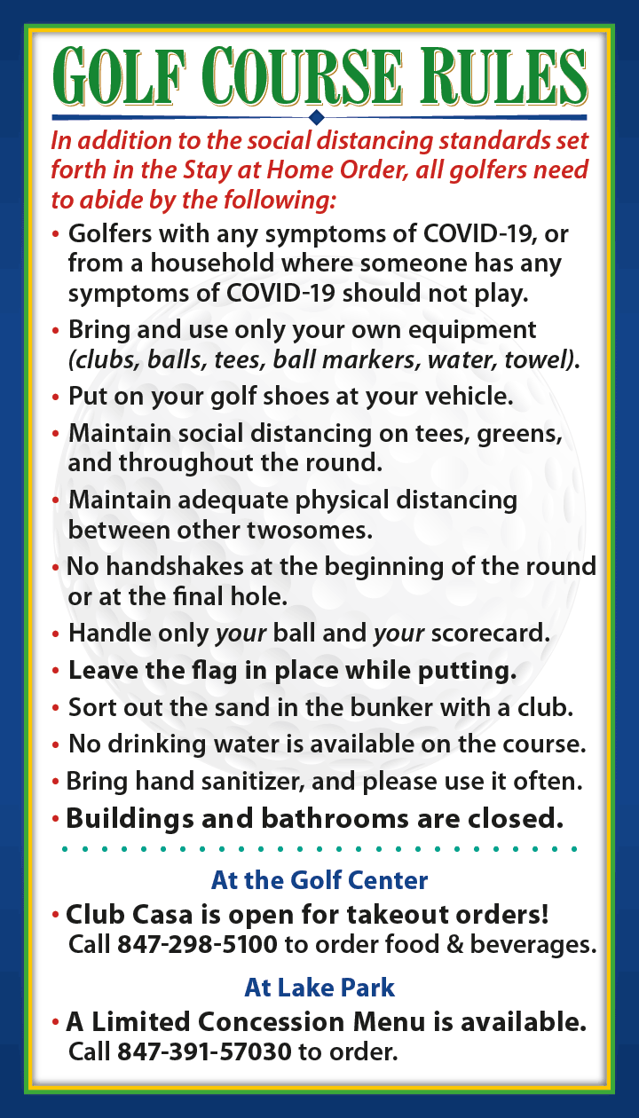 Golf Course Guidelines
