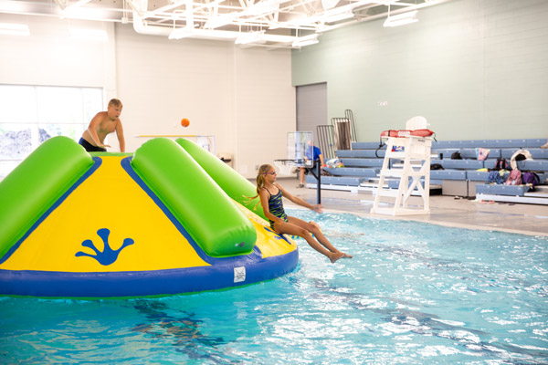 H2O Nights at Prairie Lakes feature the Wibit WiggleTrack and Rodeo Splash