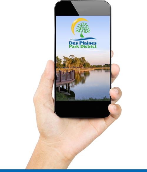The Des Plaines Park District Mobile App