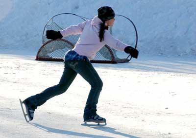 Figure skating at Lake Park