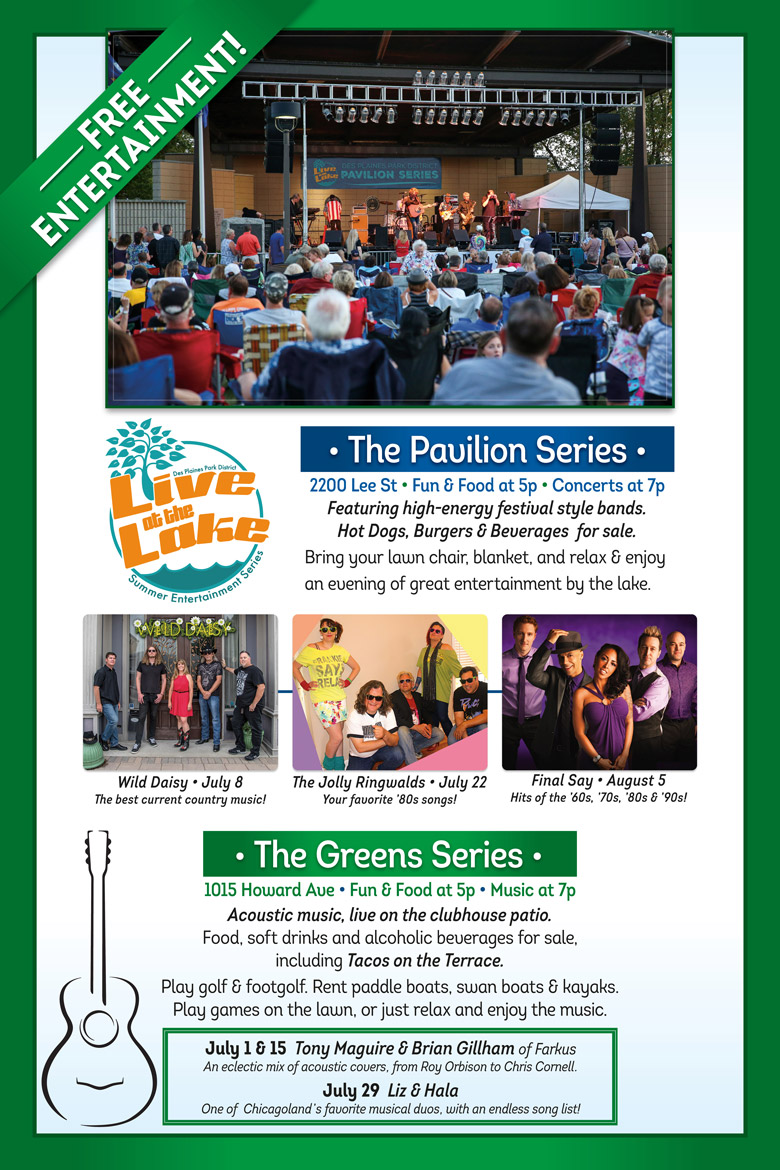 Live at the Lake 2021 Summer Entertainment Series
