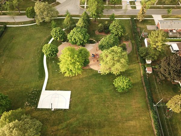 Bluett Park Aerial Image_Courtesy of Stan Kotecki Photography