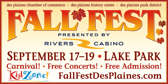 Fall Fest 2021 is September 17–19 at Lake Park in Des Plaines, IL