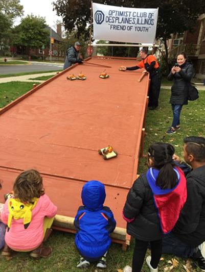 Optimist Club Pumpkin Races